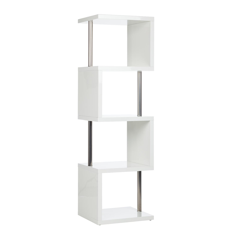 regal milano hochglanz wei raumteiler b cherregal standregal wandregal 39 ebay. Black Bedroom Furniture Sets. Home Design Ideas