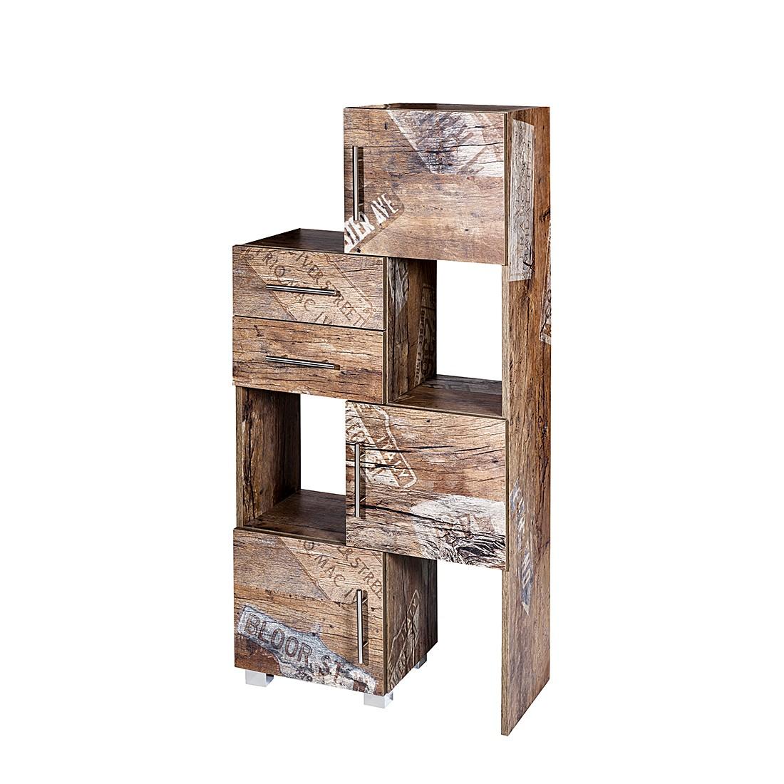 Mobile scomponibile Smilla II - Effetto legno di quercia Panama, Schildmeyer