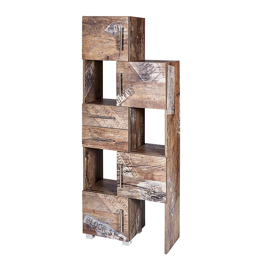 Mobile scomponibile Smilla III - Effetto legno di quercia Panama, Schildmeyer