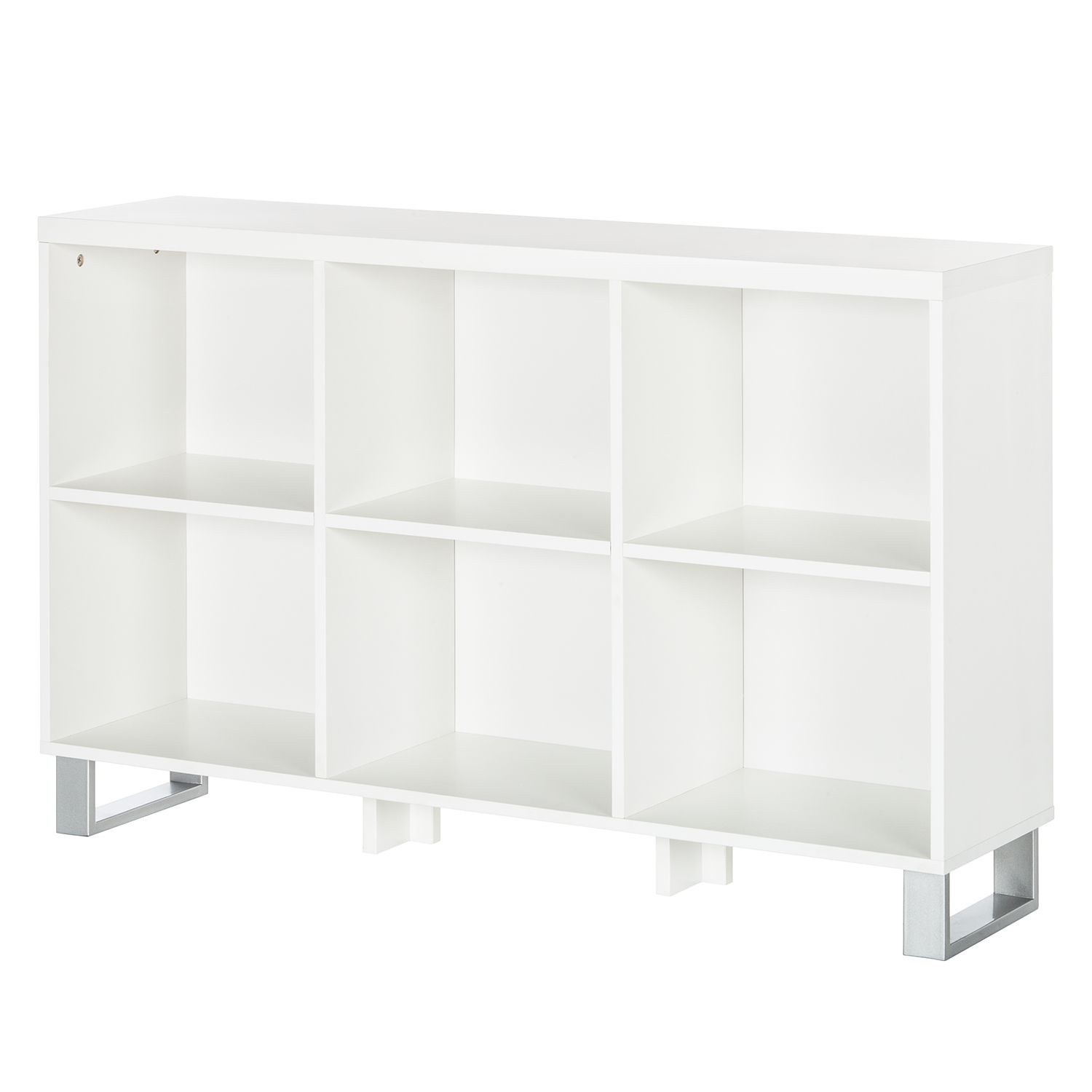 Scaffale Tranby - Bianco, mooved