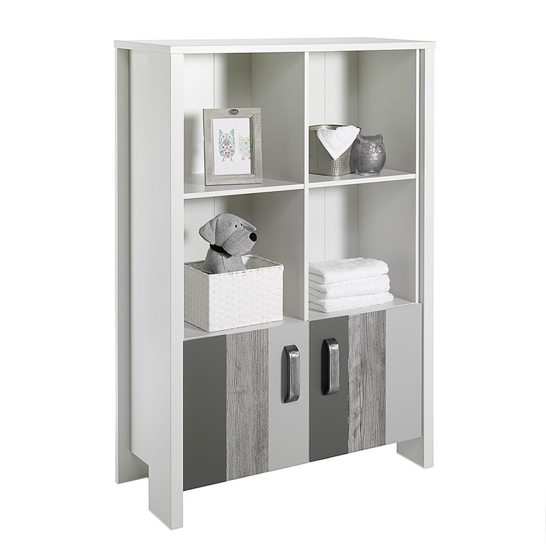 top regal woody grey wei grau pinie grau dekor hellgrau dunkelgrau schardt moebel. Black Bedroom Furniture Sets. Home Design Ideas