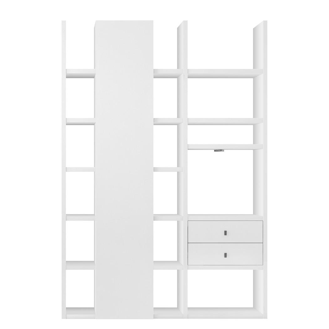 EEK A+, Etagère Emporior volts - Blanc - Eclairage RVB - Blanc, loftscape