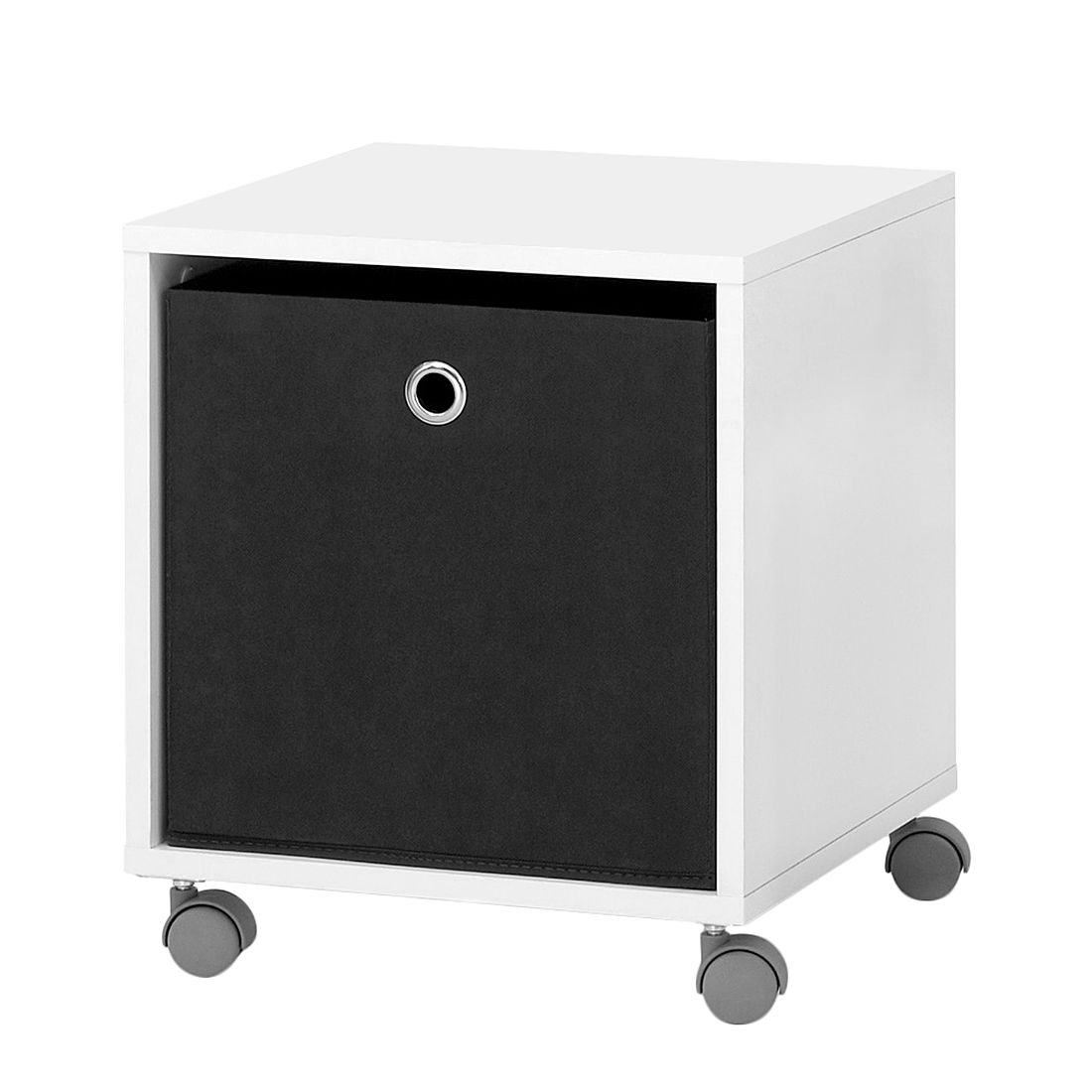 Regalwürfel Dalby (inkl. Faltbox) - Weiß, mooved