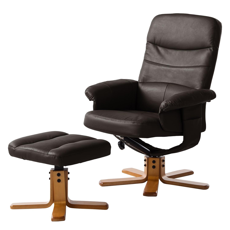 relaxsessel mit hocker braun preisvergleich die besten angebote online kaufen. Black Bedroom Furniture Sets. Home Design Ideas