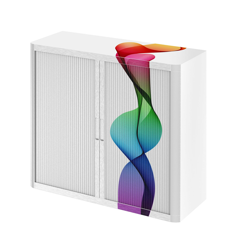 Dossierkast easyOffice Abstrait II - meerdere kleuren - 104cm, easy Office und Paperflow