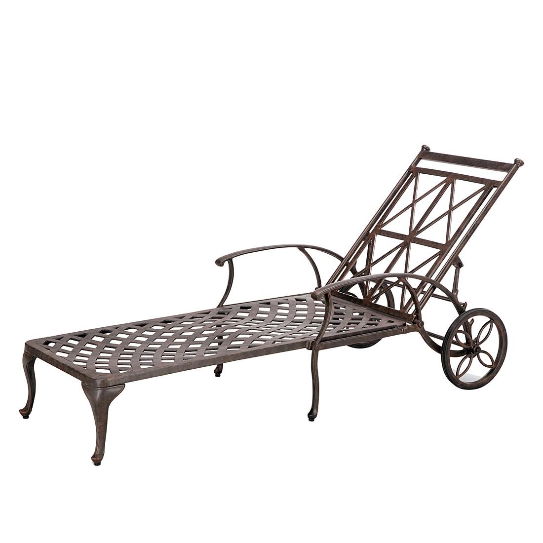 Rollliege Antigua - Aluminiumguss, Best Freizeitmöbel