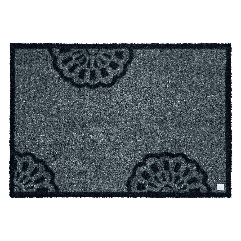 Deurmat Lace - grijs - 67x170cm, barbara becker home passion