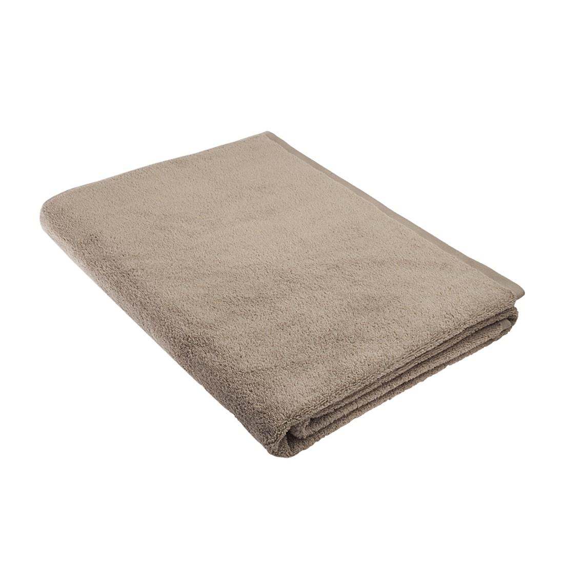 Home 24 - Serviette de sauna pure - 100 % coton - beige, stilana