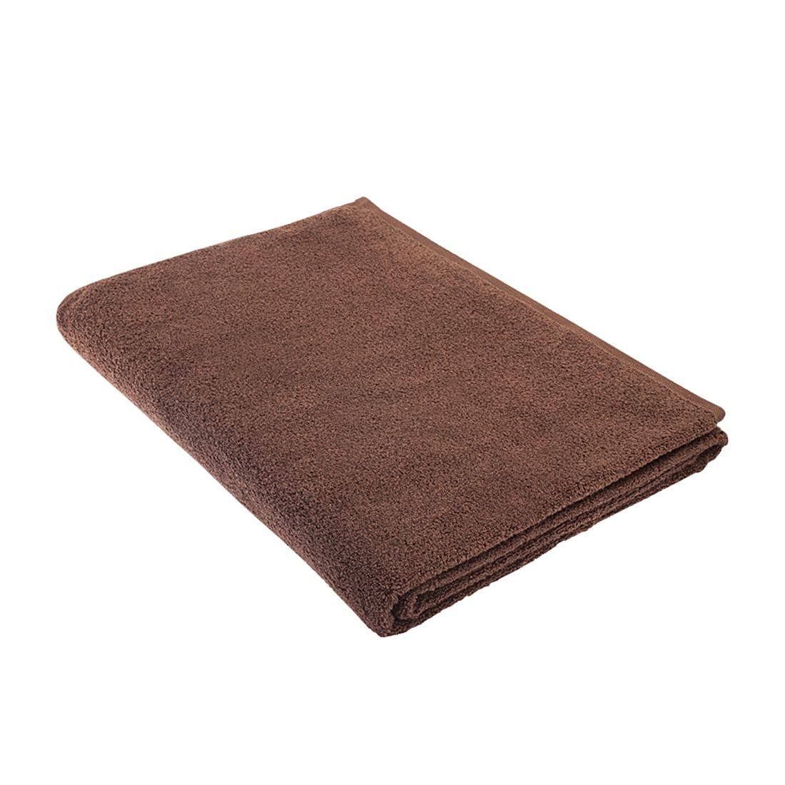 Home 24 - Serviette de sauna pure - 100 % coton - marron, stilana