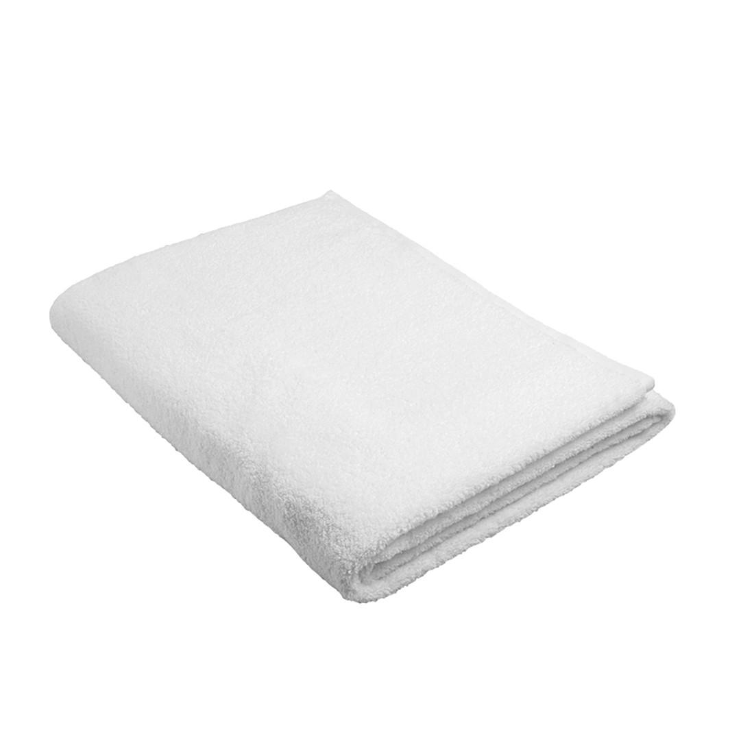 Home 24 - Serviette de sauna pure - 100 % coton - blanc, stilana