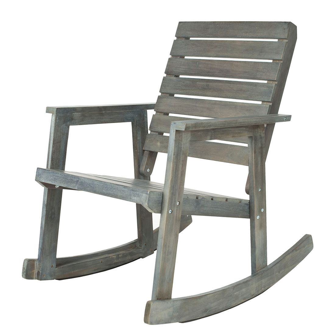 Vidaxl sedia a dondolo in legno bianco prezzi sconti sediadaufficio - Sedia a dondolo prezzi ...