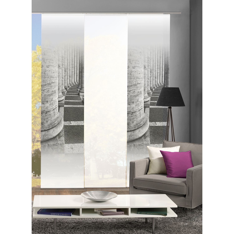schiebevorhang 3 er set preisvergleiche. Black Bedroom Furniture Sets. Home Design Ideas
