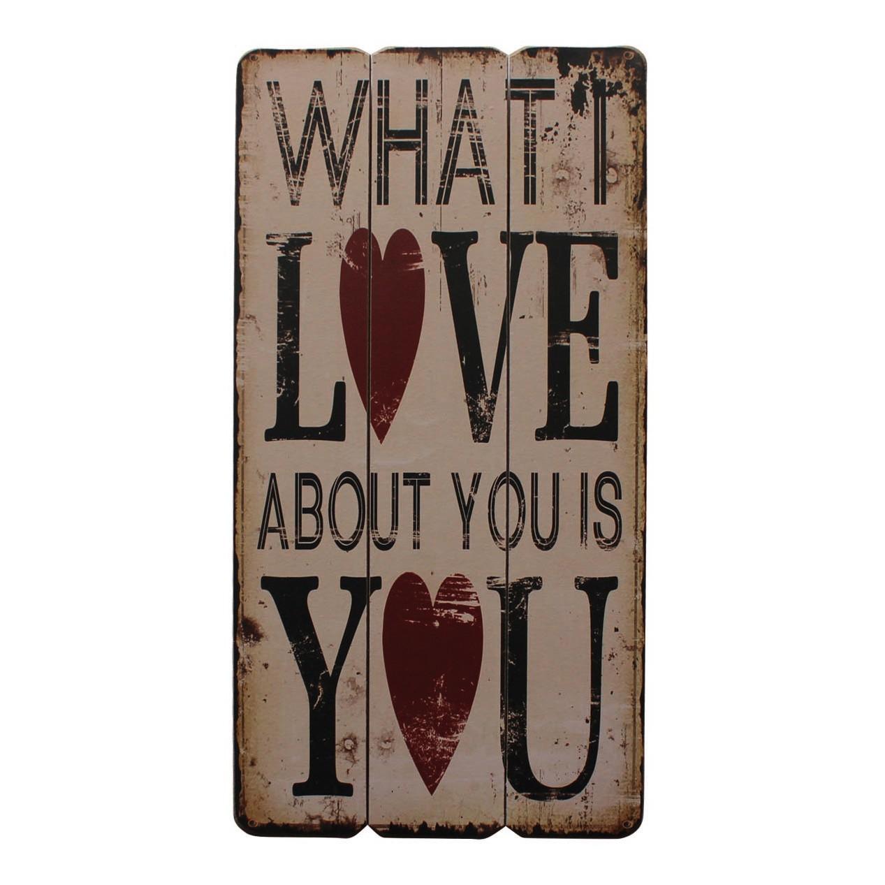 Schild Love You - Beige, My Flair bei Home24 - Sonderangebote