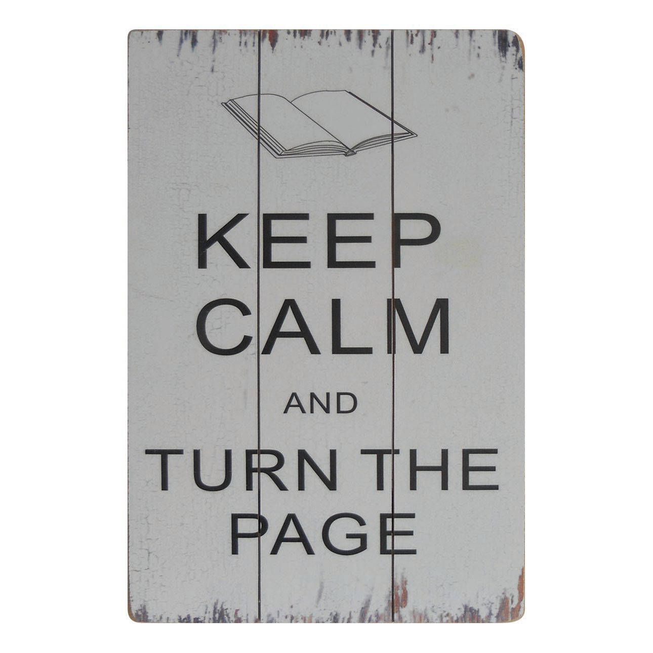 Afbeelding Turn the Page - wit, My Flair