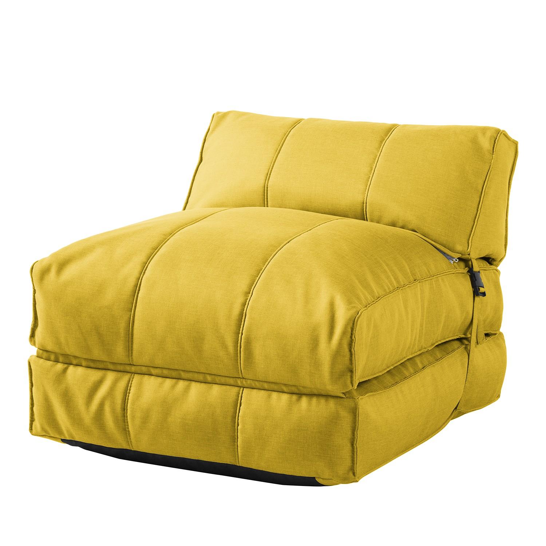 Schlafsessel Caneva - Webstoff - Gelb, Morteens
