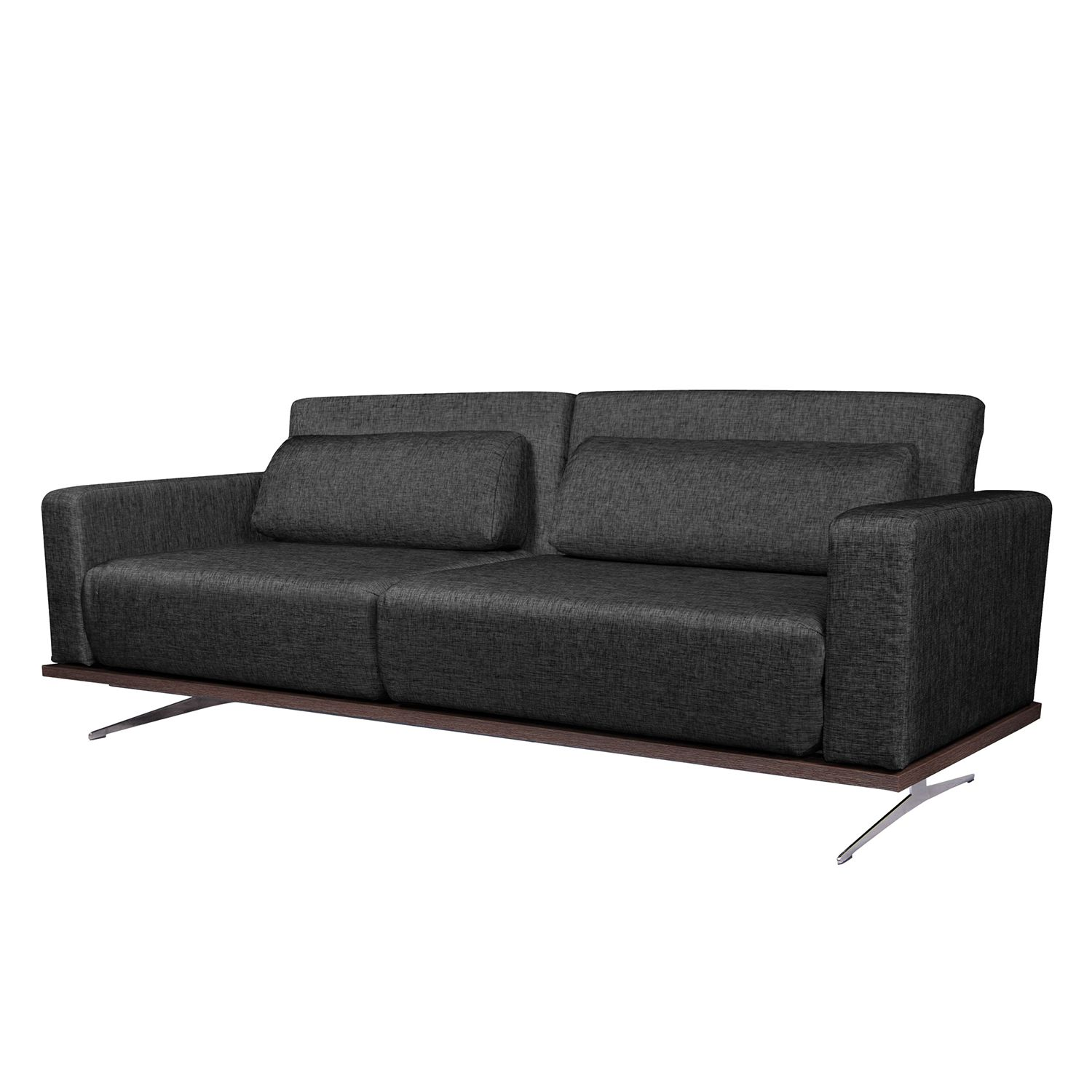 schlafsofa copperfield i webstoff stoff parsa grau schwarz jetzt kaufen. Black Bedroom Furniture Sets. Home Design Ideas