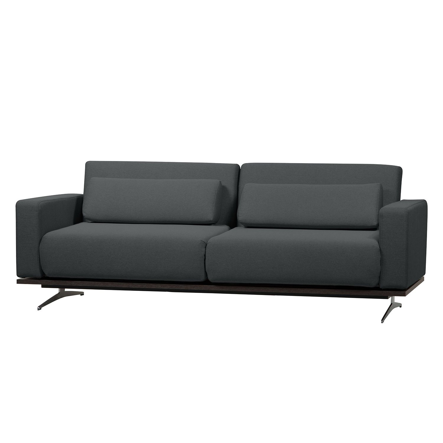 Schlafsofa Copperfield I - Webstoff - Stoff Zahira Anthrazit