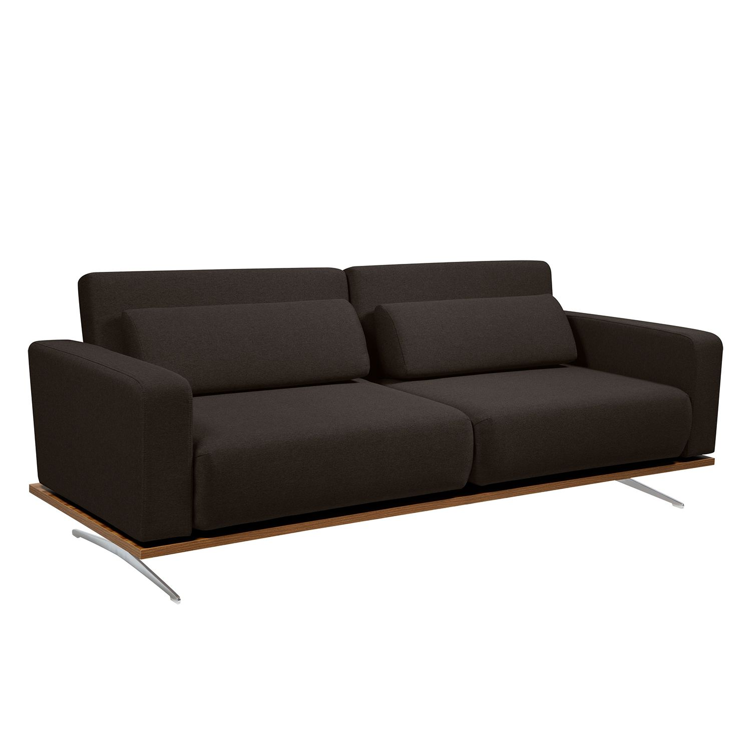 schlafsofa copperfield ii webstoff stoff zahira braun g nstig kaufen. Black Bedroom Furniture Sets. Home Design Ideas