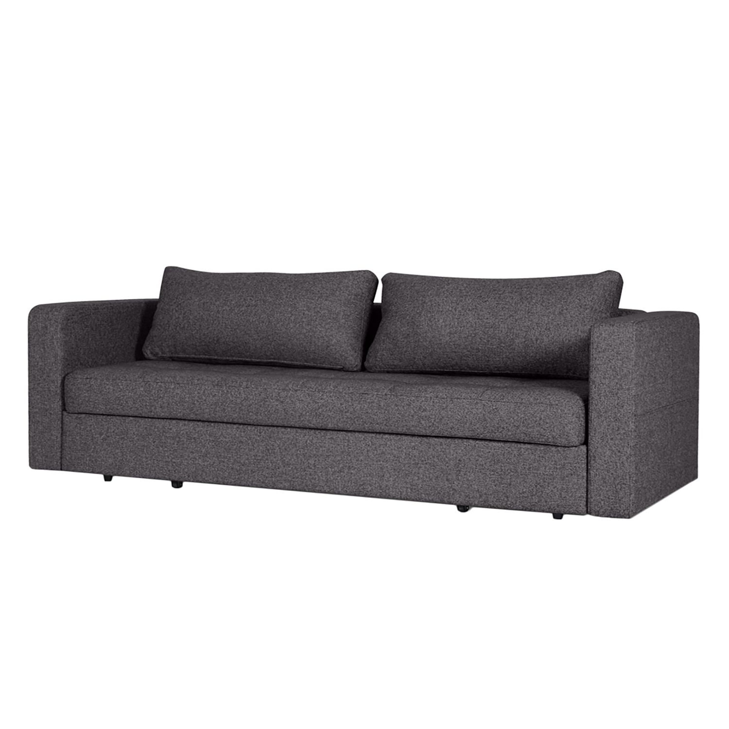 schlafsofa eperny webstoff stoff bora grau meliert online kaufen. Black Bedroom Furniture Sets. Home Design Ideas