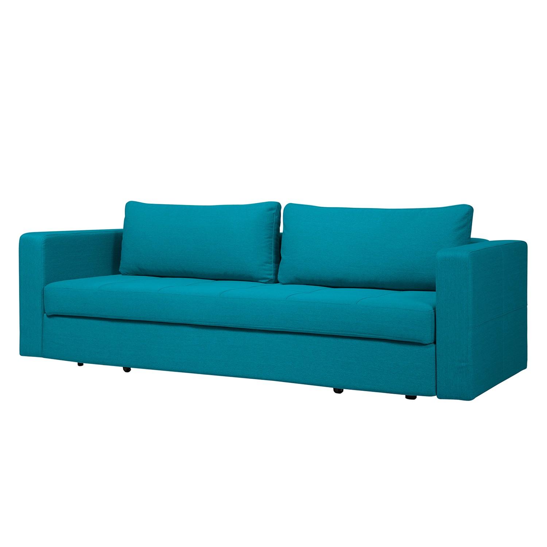 schlafsofa eperny webstoff stoff zahira t rkis online. Black Bedroom Furniture Sets. Home Design Ideas