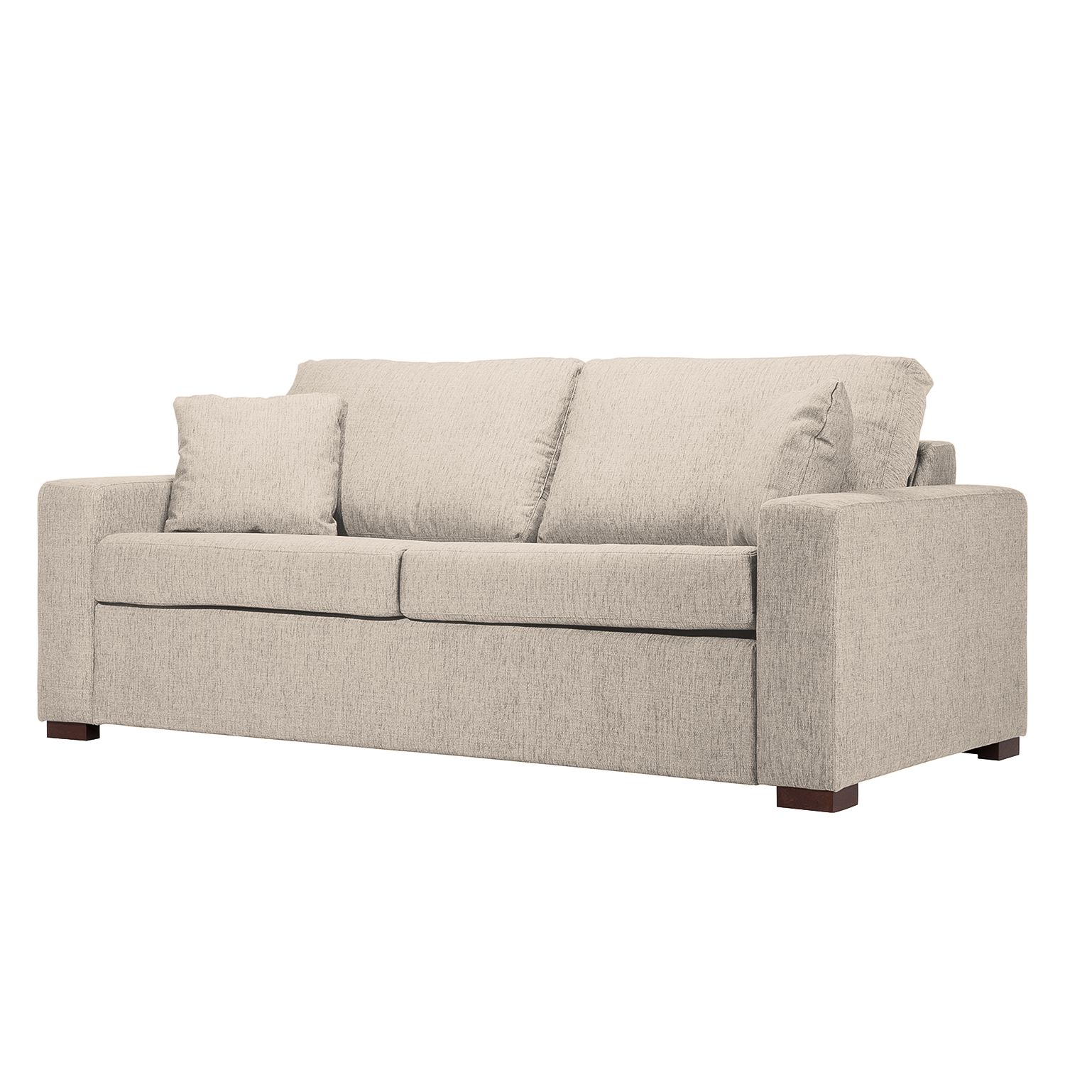 schlafsofa henning ii webstoff stoff kiara beige grau i g nstig online kaufen. Black Bedroom Furniture Sets. Home Design Ideas
