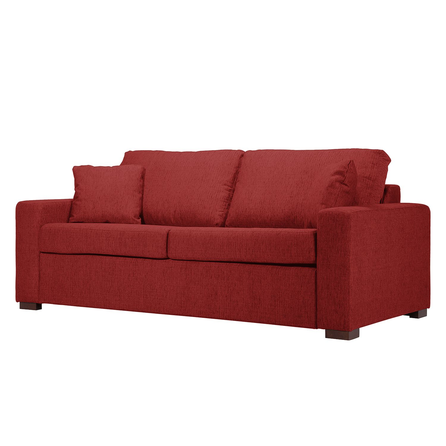 schlafsofa henning ii webstoff stoff kiara rot g nstig online kaufen. Black Bedroom Furniture Sets. Home Design Ideas