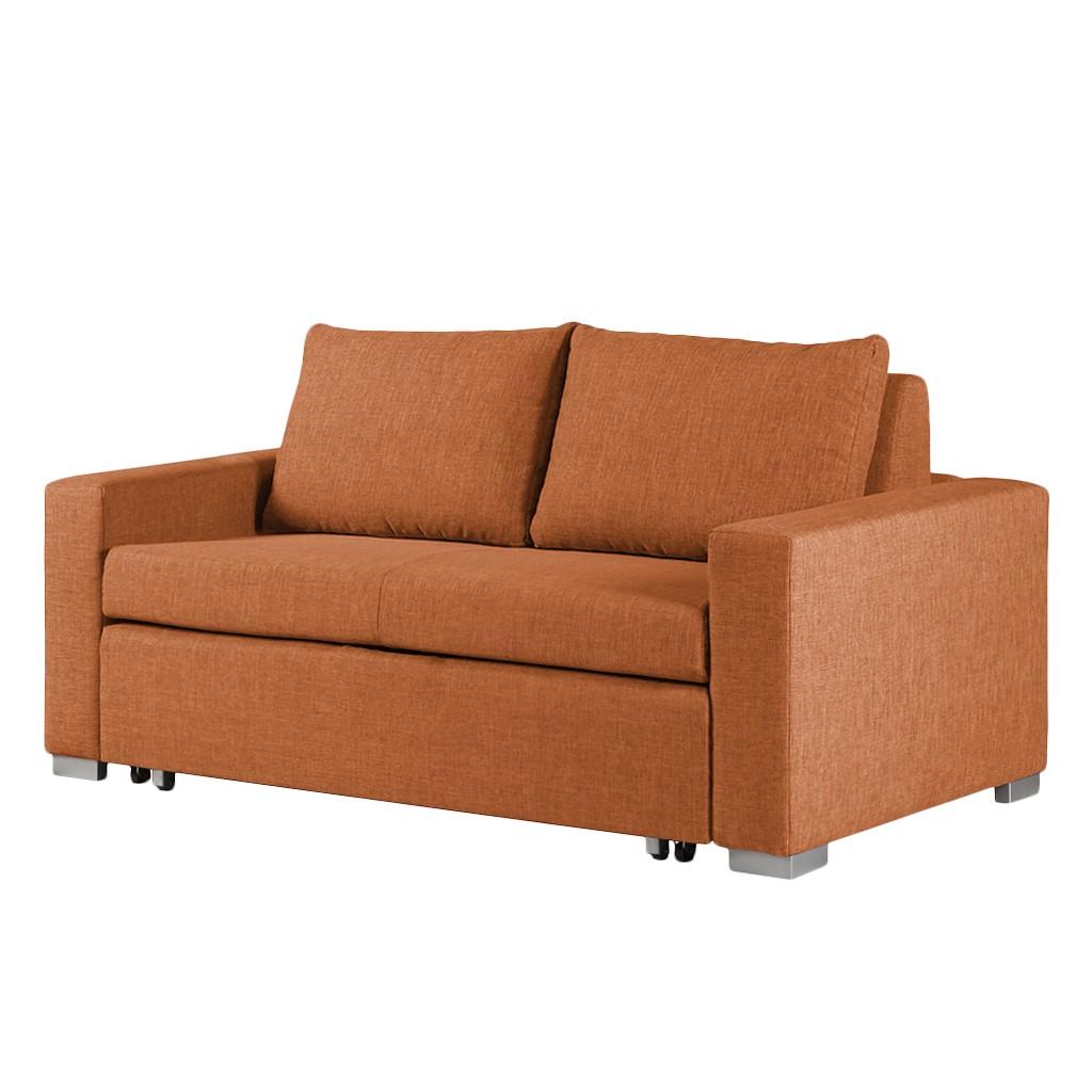 Slaapbank oranje kopen online internetwinkel for Sofa 150 breit