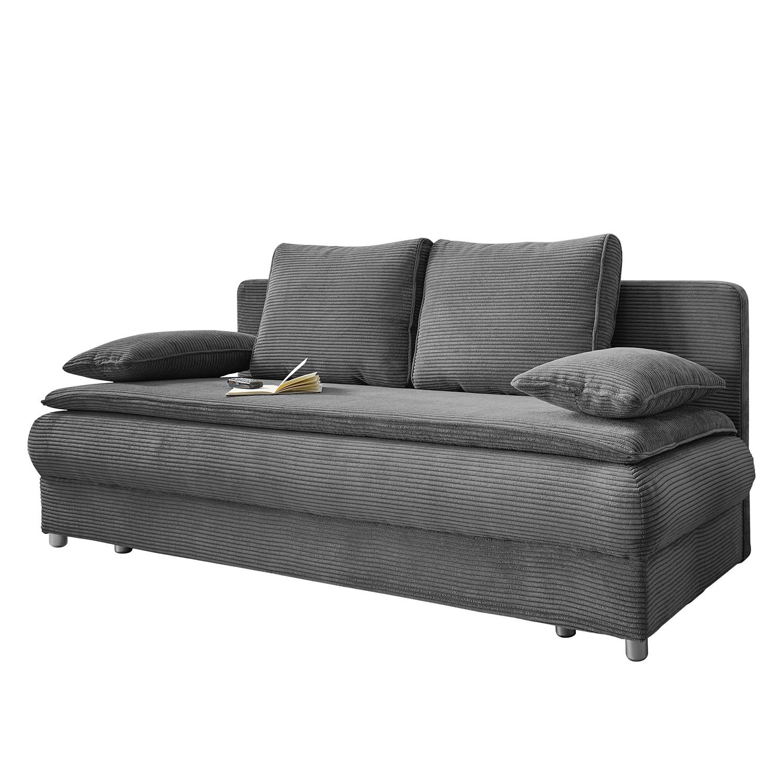 canap convertible manacor microfibre gris fonc fredriks meubles en ligne. Black Bedroom Furniture Sets. Home Design Ideas