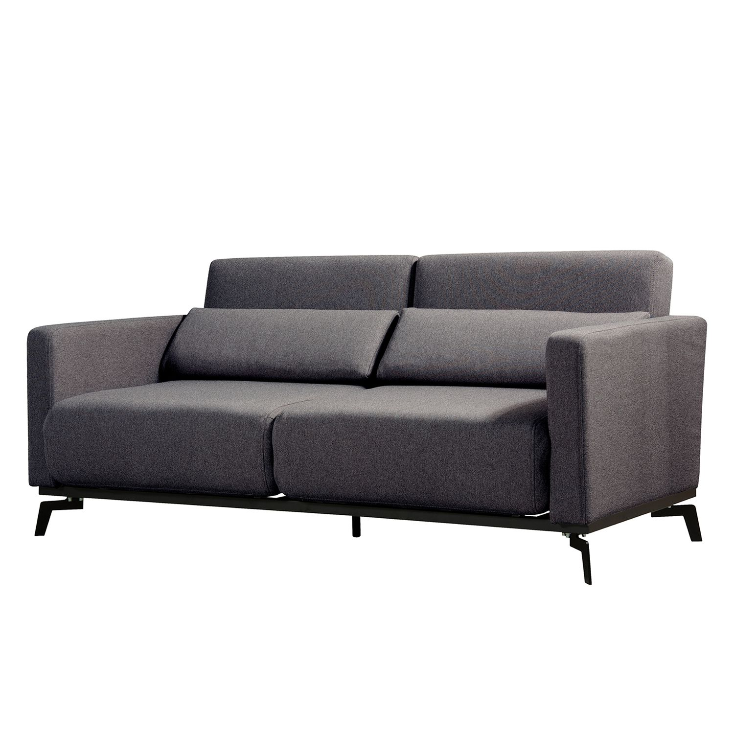 schlafsofa maven webstoff stoff bora grau meliert online bestellen. Black Bedroom Furniture Sets. Home Design Ideas