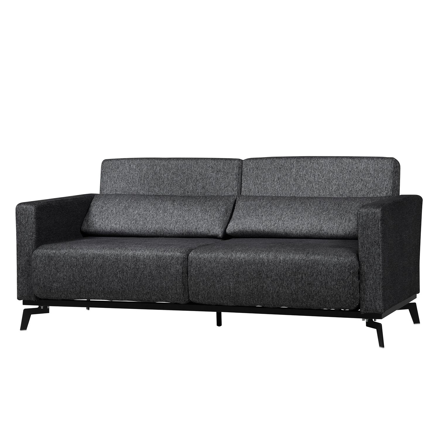 schlafsofa maven webstoff stoff parsa grau schwarz g nstig online kaufen. Black Bedroom Furniture Sets. Home Design Ideas