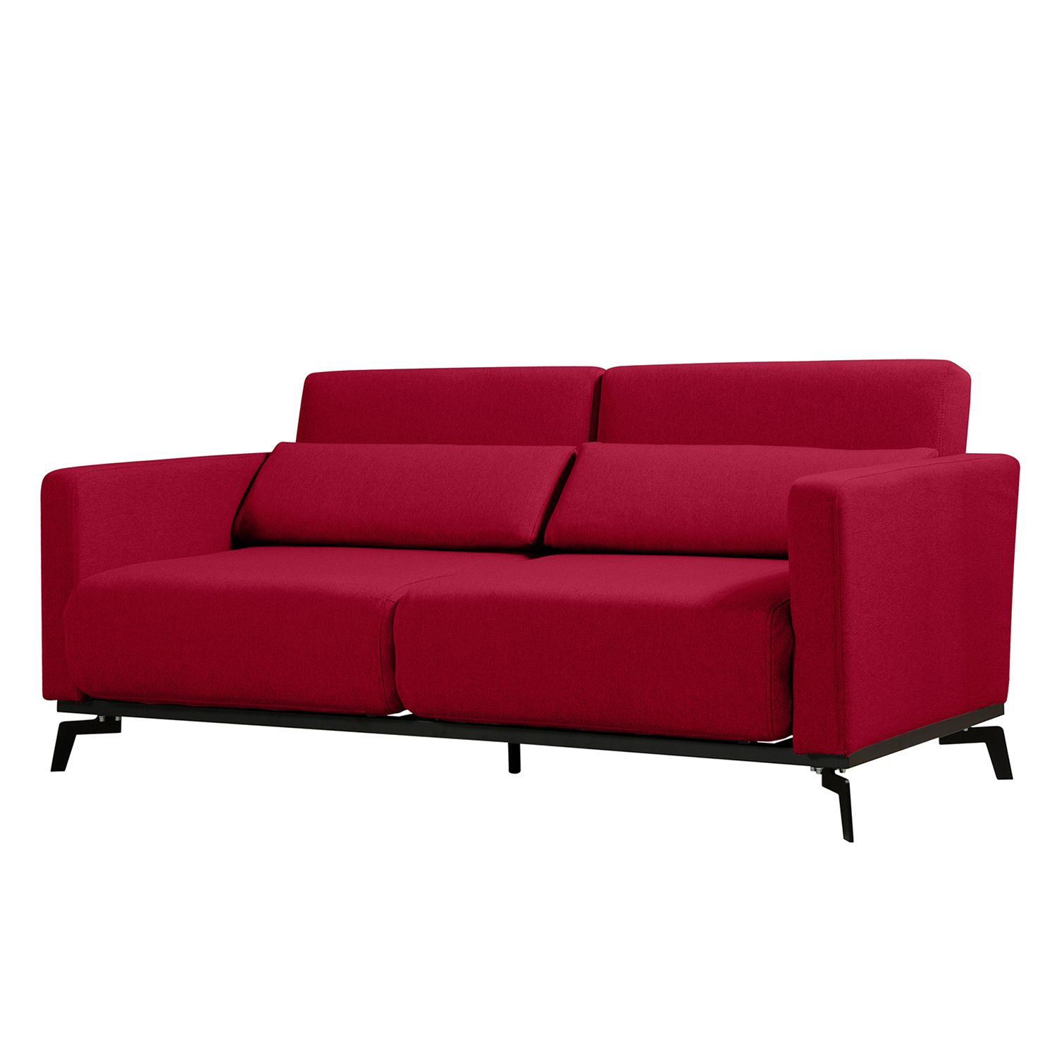 schlafsofa maven webstoff stoff zahira rot g nstig online kaufen. Black Bedroom Furniture Sets. Home Design Ideas