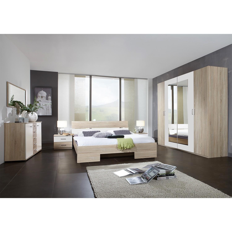 Ensemble de chambre à coucher Alina II (4 éléments) - Imitation chêne brut de sciage, Wimex