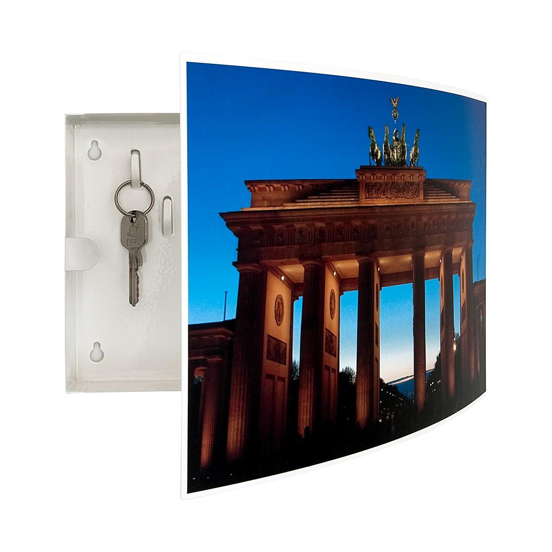 Sleutelkastje City Berlijn - metaal, loftscape