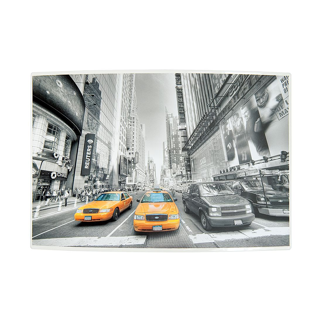 Home 24 - Boîte à clefs city new york - métal, fredriks