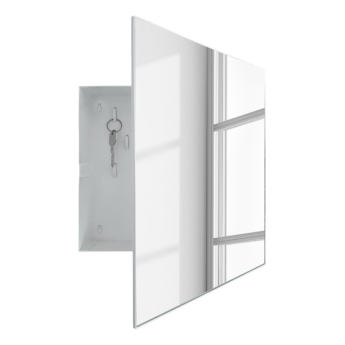 Sleutelkastje Mirror- Box - metaal/spiegelglas, loftscape
