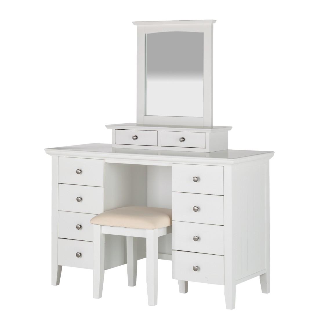 schminktisch wei preisvergleich die besten angebote online kaufen. Black Bedroom Furniture Sets. Home Design Ideas