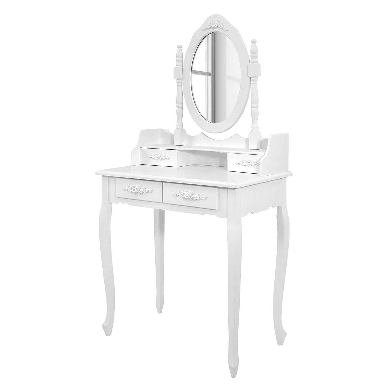 la redoute coiffeuse pin massif ireka prix et offres la redoute. Black Bedroom Furniture Sets. Home Design Ideas