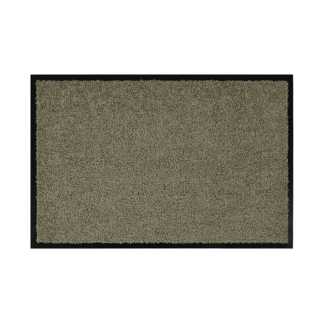 Deurmat Wash en Clean - Duifgrijs - 40x60cm, Hanse Home Collection