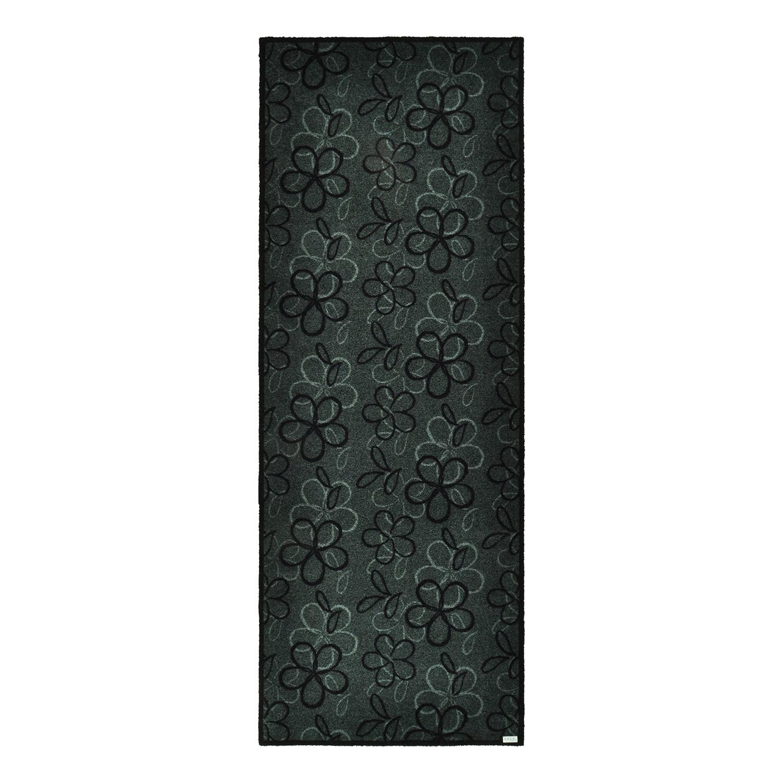 Deurmat Flower - Grijs - 67 x180cm, Zala Living