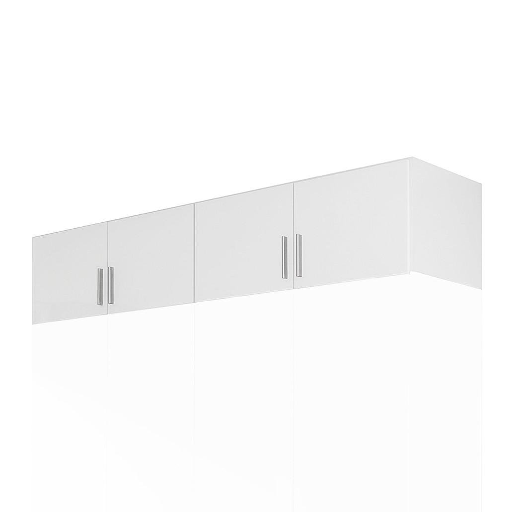 Opzetstuk kast Celle (4-deurs) - hoogglans wit/alpinewit, Rauch Packs