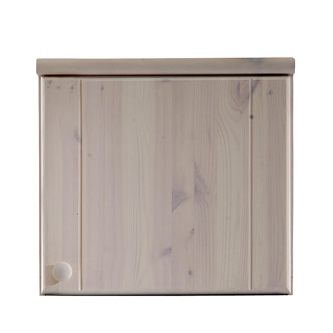 Armoire à vêtements Ribe - Pin blanc délavé - 51 cm (1 porte), Steens