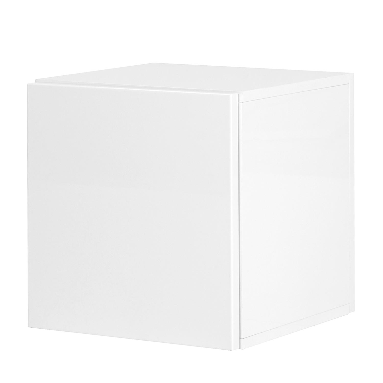 Schrankwürfel MiPuro - Hochglanz Weiß
