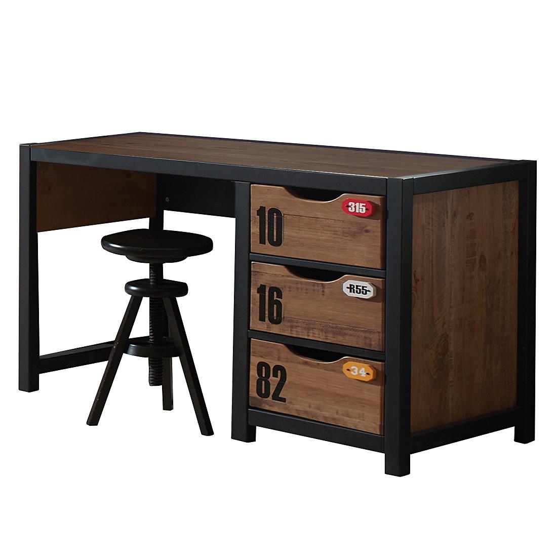 schreibtisch 130cm preisvergleiche erfahrungsberichte. Black Bedroom Furniture Sets. Home Design Ideas