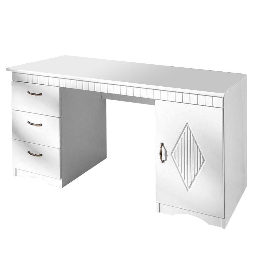 Scrivania Amia II - Bianco perla, home24 office