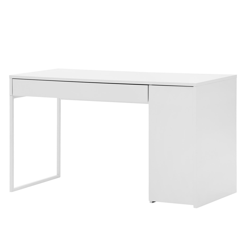 Schreibtisch Barford - Weiß