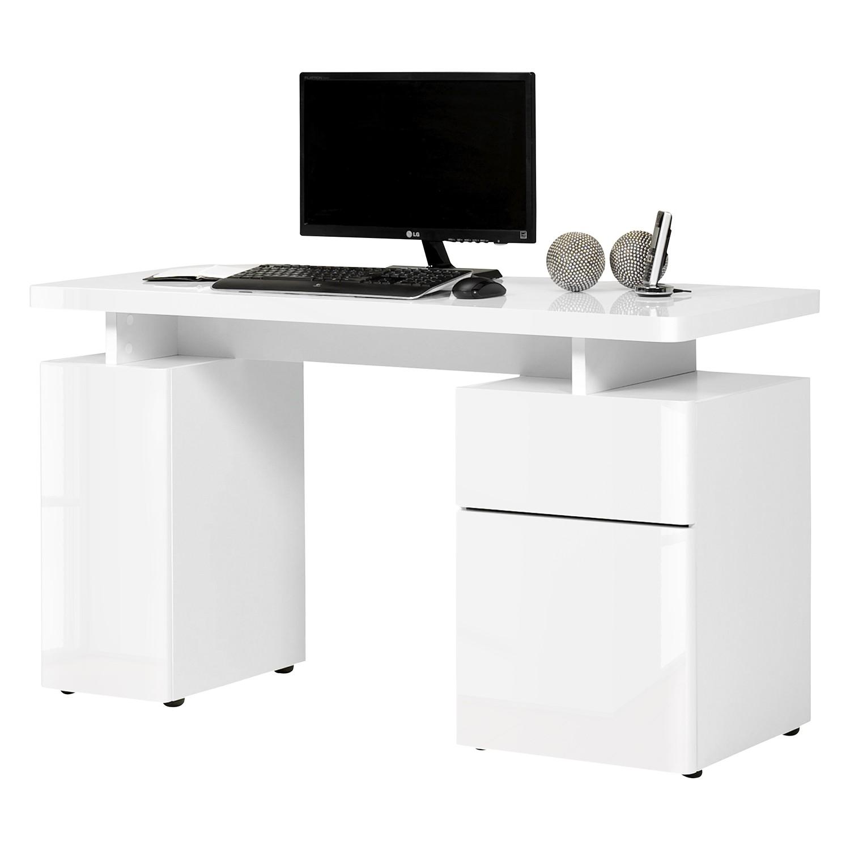 Schreibtisch weiß hochglanz 140  Jahnke Bürotisch – für ein modernes Heim | home24