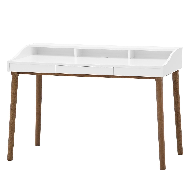 Schreibtisch Hagen - Eiche / Weiß