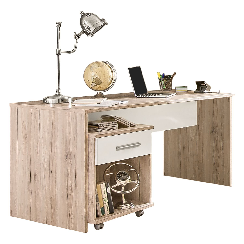 rollcontainer schreibtisch massivholz preisvergleich die besten angebote online kaufen. Black Bedroom Furniture Sets. Home Design Ideas