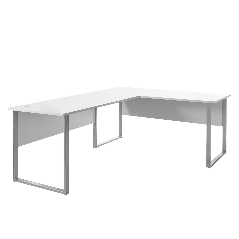 Bureau d angle tux blanc mooved meubles en ligne for Bureau en ligne