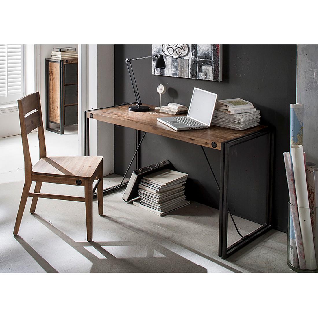 schreibtisch industrial. Black Bedroom Furniture Sets. Home Design Ideas